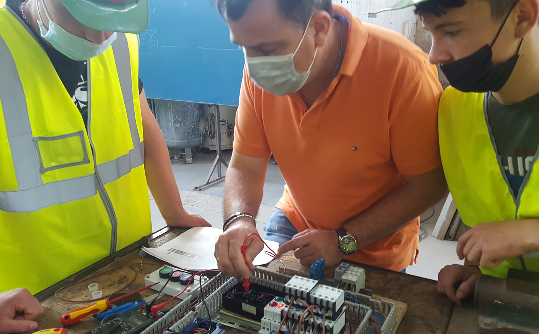 ElectroEurocompetențe Profesionale la elevi VET prin programul Erasmus